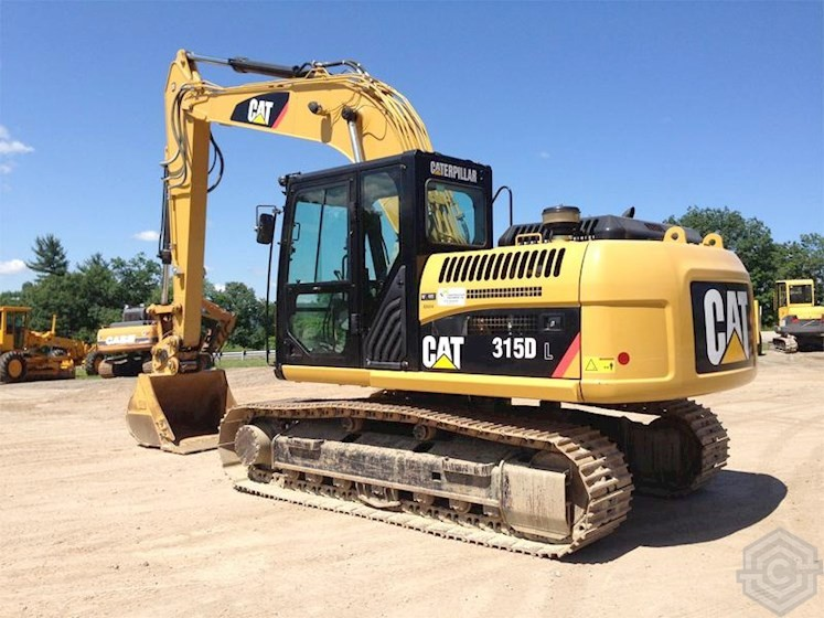 Экскаватор Caterpillar 315DL
